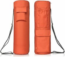 yoga Full Zip Yoga Bag with Expandable Pocket and Water Bottle Holder– Fits Yoga