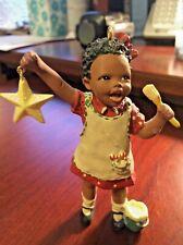 "1996 Hallmark Martha Holcombe ""Christy"" God's Children Christmas Ornament"