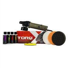 [BRAND NEW] TORQ TORQX Random Orbital Polisher Kit Heavy-Duty Buffer (9 Items)