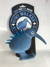 New Large Blue Kiwi Walker Dog Toy Latex Whistle Figure