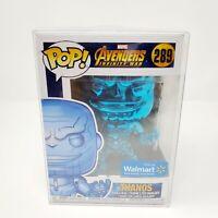 Funko Pop! Vinyl Marvel Avengers Infinity War THANOS 289 Blue Chrome Exclusive