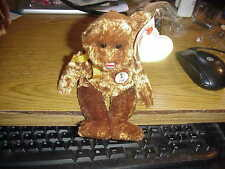 RETIRED TY BEANIE BEAR**COSAT RICA*2002 FIFA WORLD CUP SOCCER CHAMSIONSHIP