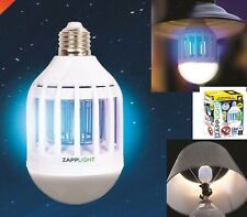 LAMPADA ANTI ZANZARE LAMPADINA LED E27 ANTI ZANZARA KILLER ZANZARIERA ELETTRICA