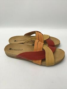 El Naturalista 5243 Zumaia Sandals  Women's  Size 39/US8.5  Made in Spain