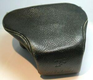 Nikon Standard prism ever ready case for F waist level finder pebble grain