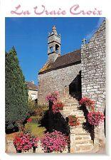 BF1089 la vraie croix village fleuri   France