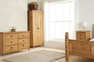 Brand New Modern Pine Pembroke Bedroom Set