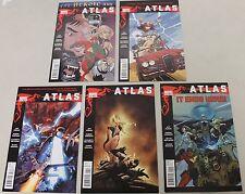 Marvel: Atlas (2010) #1-5 COMPLETE SET