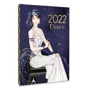 Art Deco - Claire Coxon - 2022 A5 Diary