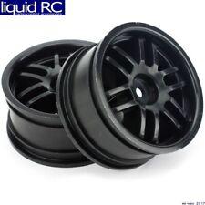 Traxxas 7371X Rally Wheels Black (2): 1/16