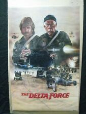 THE DELTA FORCE 1986 MOVIE POSTER GARAGE  CHUCK NORRIS ACTOR CNG1365