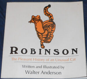 Robinson The Pleasant History of an Unusual Cat Walter Anderson Mississippi Book