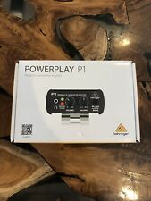 Behringer Powerplay P1 Personal In Ear Monitor Amplifier