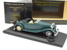Eligor 1/43 - Delage D8 Cabriolet Verte