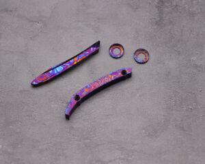 CmbmadeKnives TI Mascus CMB02C M390 Blade 6AL4V Titanium Handle Folding Knife