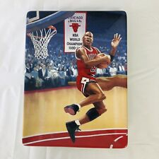 "MICHAEL JORDAN Vtg Bradford Exchange ""Takin' It Higher"" PLATE Upper Deck COA"
