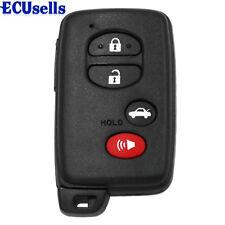 Smart Key Remote Shell Uncut for TOYOTA Avalon Camry Highlander RAV4
