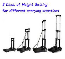 Foldable Retractable Handy Truck Dolly Cart Luggage Shopping Trolley