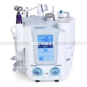 Pro 5in1 Hydra Dermabrasion Ultrasonic RF Oxygen Spray BIO Skin Scrubber Machine