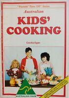 "VINTAGE 1986 ~ ""AUSTRALIA KIDS' COOKING"" ~ Cecilia Egan & Peter Petrovic ~ VGC"