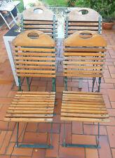 4x Biergartenstühle