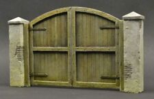 DioDump DD132 Farm gate 1:35 scale resin + plaster diorama scale model