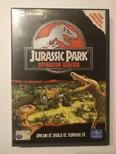 JURASSIC PARK OPERATION GENESIS PC Cd Rom Original Release *Boxed & Complete*