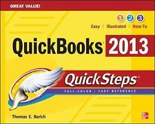 QuickBooks 2013 QuickSteps, Barich, Thomas, New Books