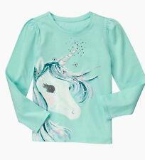 NWT Gymboree Unicorn 🦄 Top Enchanted Winter Size 10