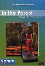 IN THE FOREST VIRTUAL WALK WALKING TREADMILL WORKOUT DVD AMBIENT COLLECTION