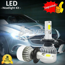 55W CREE LED Phare feux Lampe Ampoule Voiture Auto Headlight Bulb H1 H3 H7 H8 H9