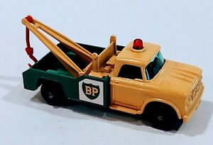 13-D2 Near MINT!! Dodge BP Wrecker Lesney Matchbox circa '65