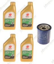 GENUINE Honda Oil Filter + IDEMITSU 0W-20 Synthetic Oil (4 qts) - Oil Change Kit