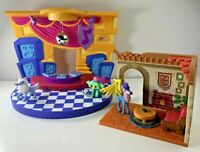 Lot of Animal Jam Playsets Club Geoz Arctic Wolf Small House Lucky Monkey + More