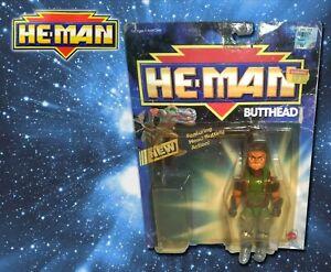 He-Man New Adventures Butthead w Package 1991 MOTU NA Vintage Evil Mutants