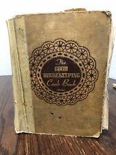 The Good Housekeeping Hardcover Cookbook Vintage