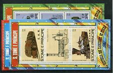 Sao Tome Block 114/16 postfrisch / Eisenbahn ..............................1/462