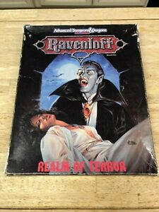 Vintage - Dungeons & Dragons - Ravenloft - Realm Of Terror Box Set - Complete