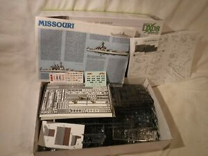 Tamiya WWII US Battle Ship USS Missouri Not Complete. PE, Plastic & Metal Parts