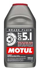 Motul DOT 5.1 Performance Brake Fluid Fully Synthetic 500mL Bottle DOT 3 DOT 4