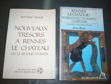Monteils trésor Rennes le chateau & Blum wisigoths cathares templiers pyrenees
