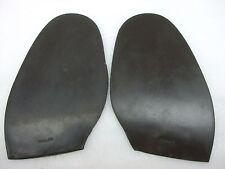 Vintage NOS Stalite Replacement Rubber Half Shoe Boot Soles 10 M Dark Brown