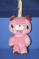 "Chax-GP Chack Gloomy Bear Teddy Grizzly Pink Plush Doll Bag TAITO 9.2"" CGP233"