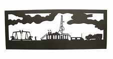 Oil Field Wall Scene