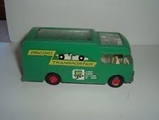 MATCHBOX ENGLAND RACING CAR TRANSPORTER DAMAGED PLASTIC ROOF SEE THE  PICTURES