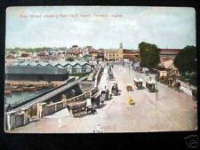Ceylon~1900s Colombo~Main Street~Trams~Khan Clock Tower