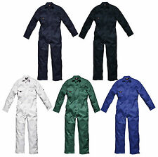 Mens Dickies Redhawk Coverall Overalls Boiler Suit Studden WD4819 Size / Colour