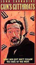 Cains Cutthroats (VHS, 2000)