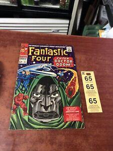 Marvel FANTASTIC FOUR #57 (1966) Doctor Doom, Silver Surfer, Sandman, & Inhumans