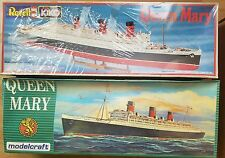 Modelcraft + Revell Kiko Ed. QUEEN MARY Liner SHIP 1:568 Scale Sealed Model Kits
